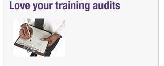 Love your training audits